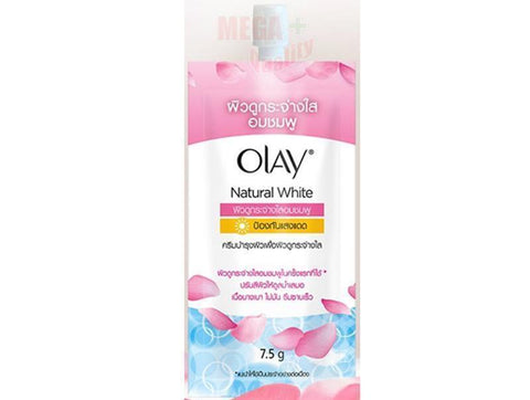 Olay Natural White Pinkish Fairness with UV Protection whitening Cream 7.5g