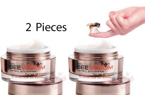 2 x Mistine New Zealand Bee Venom Perfect Anti-Wrinkle Facial Cream 28g