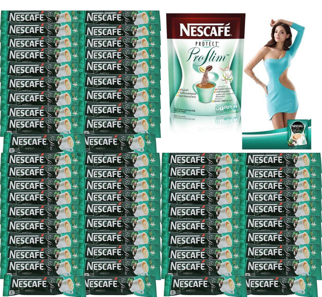 60 Nescafe Protect Proslim Diet Slimming Weight Loss 3 In 1 Instant Selsun 7 Herbal Anti Dandruff Shampoo 120ml Coffee Stick
