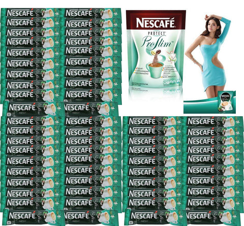 60 NESCAFE Protect Proslim Diet Slimming Weight Loss 3 in 1 Instant coffee stick