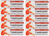 10 X 120G COUNTERPAIN ANALGESIC BALM MASSAGE RELIEVES MUSCULAR ACHE PAIN - THAI ETC GROUP