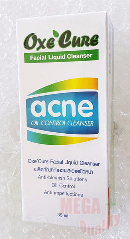 35ml. Oxe Cure Facial Liquid Cleanser Acne Oil Control Anti-Blemish Solution