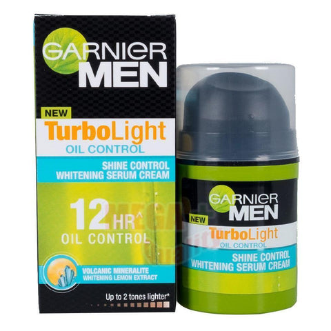 Gernier Men Turbo Light Oil Control 12HR Shine Control Whitening Face Serum 40ml