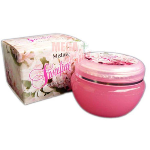 Mistine Perfume Cream #Sweetine with Natural Flowers Scent Moisturizing Skin 10g