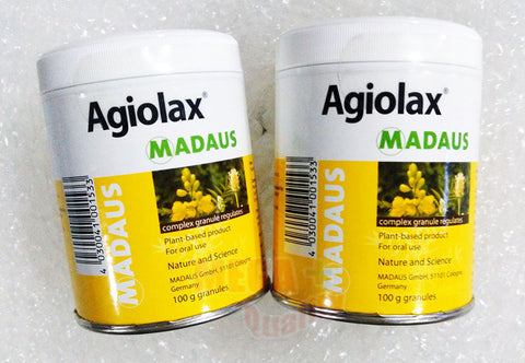 2 X MADAUS AGIOLAX STRONG VEGETABLE SENNA LAXATIVE RELIEF CONSTIPATION