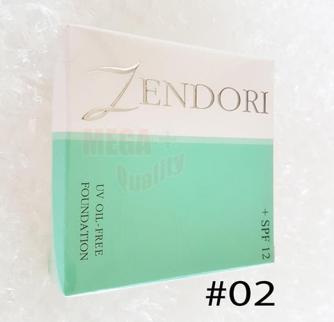 ZENDORI UV Oil-Free Foundation SPF12 Cover Skin Smooth #No. 02 Medium Skin