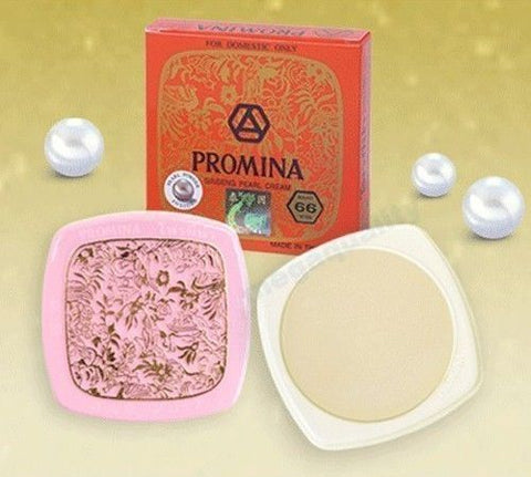 PROMINA GINSENG PURE PEARL CREAM ACNE DARK SPOT WHITENING ANTI ACNE FOR FACE
