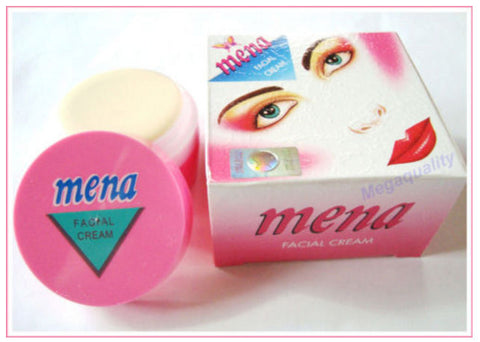1 x 3G. MENA Herbal Cream White Mineral Whitening Acne / Dark Spot Free Shipping
