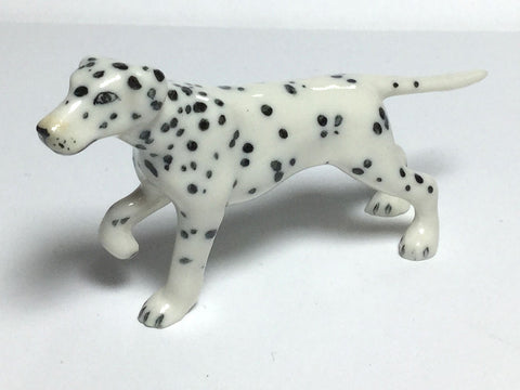 Craft Miniatures Collectible Ceramic Cute Dalmatian Dog FIGURINE Animals