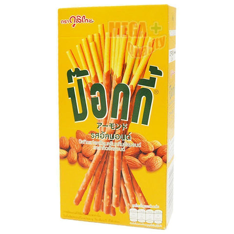 Pocky ALMOND TASTE Biscuit Stick Coated with Almond Flavour Confectionery 43.5g