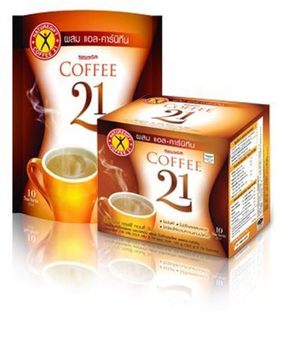 Naturegift slimming instant Coffee 21 Plus L-Carnitine Formula 10 sachets