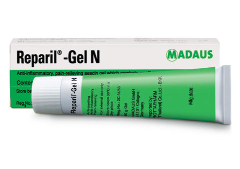 Reparil Gel N 40 g Anti Inflammatory Pain Muscle Relieving Aescin Gel Swelling