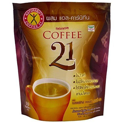 Naturegift Coffee 21 with L-Carnitine Vitamins Slimming Weight Loss Diet