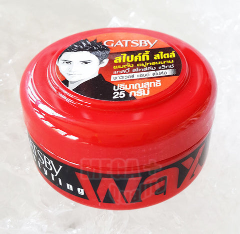 1 X GATSBY Hair Styling Wax Power and Spike From JAPAN 25 g