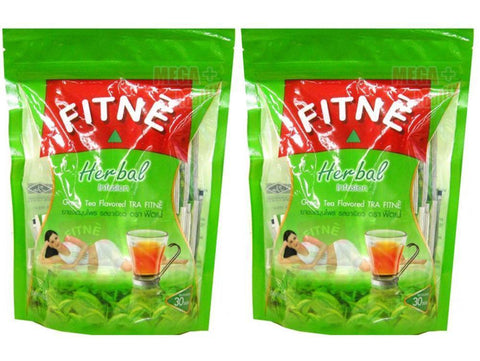 2 x FITNE HERBAL GREEN TEA 100% Natural SLIMMING WEIGHT LOSS DIET 30 Teabags