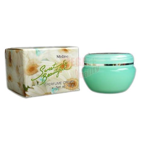 Mistine Perfume Cream #Sweet and Beautiful Shea Butter Macadamia Oil Scent 10g.