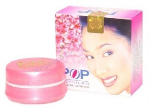 POP POPULAR FACIAL CREAM WHITENING TREATING BLEMISHES ACNE FRECKLE AND PIMPLE