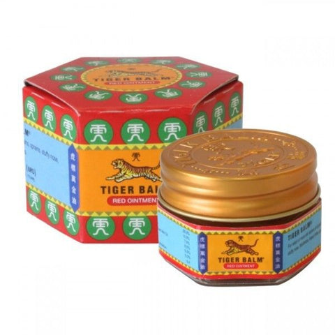 10g TIGER BALM Herbal RED Ointment Massage Relief Muscle Pain Insect Bite
