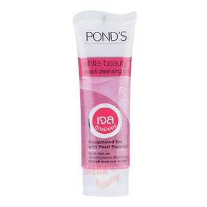 PONDS White Beauty Pearl Cleansing Gel Oxygenated Gel With Pearl Essence 50g