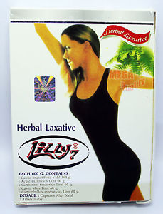 LILLY7 Thai Herb Herbal Senna Laxative Lose Weight Slim Diet Detox 30 Capsules