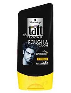 Schwarzkopf Taft LOOKS ROUGH and TOUGH EXTREME GEL MEGA STRONG HOLD 150ml