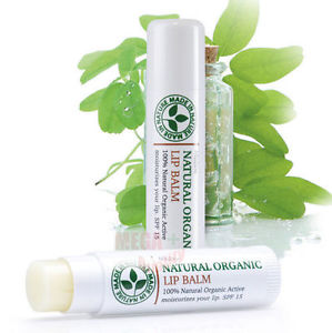 Mistine Natural Organic Lip Balm and Treatments SPF 15 Sun protection 2.75 g.
