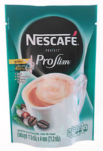 Nescafe Protect ProSlim 4,000mg Fiber Healthly Instant Coffee Mix Powder 4 Stick