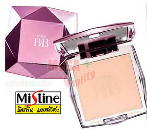 Mistine BB Diamond Super Pressed Powder Blemish Foundation SPF25 From Korea