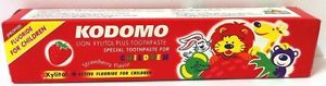 KODOMO STRAWBERRY XYLITOL PLUS CHILDREN TOOTHPASTE 40 g