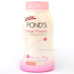 POND s Magic Powder Oil and Blernish Control Double UV Protection Pink 100 g.