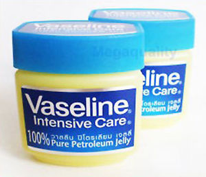 2x50 g. Vaseline intensive care 100% Pure Petroleum Jelly Moisturize Dry Skin