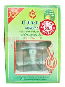 BUALUANG Hair Coat Natural Herbs Plus Vitamin E Extra Nourish Hair Repair 85ml