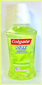 COLGATE PLAX FRESH TEA MOUTHWASH FRESH BREATH PROTECTION LONG 12 HOURS - 250 ml.