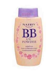 Natriv BB UV Pearly Glitter Face Powder Oil Control For Portability 40g