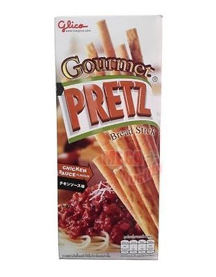 Glico Gourmet PRETZ Bread Stick CHICKEN SAUCE FLAVOUR Chew Stick Snacks 30g