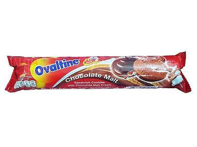 Ovaltin Chocolate Malt - Sandwich Cookies with Chocolate Malt Cream 135g