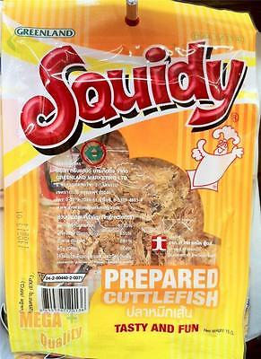 Squidy PREPARED CUTTLEFISH TASTY AND FUN Delicious Snacks Real Squid 15g