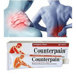 12 X 120G COUNTERPAIN ANALGESIC BALM MASSAGE RELIEVES MUSCULAR ACHE PAIN - THAI ETC GROUP