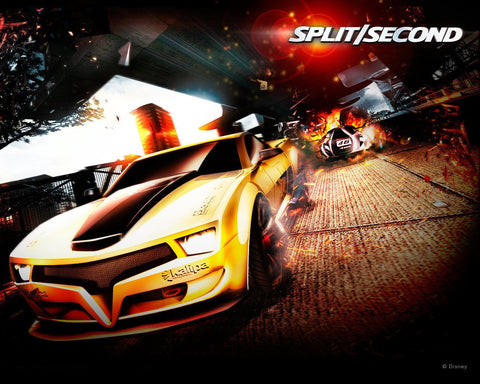 Spilt Second PC Game Game Silk Wall Art Poster Print - 13x20 inch (33x50cm)