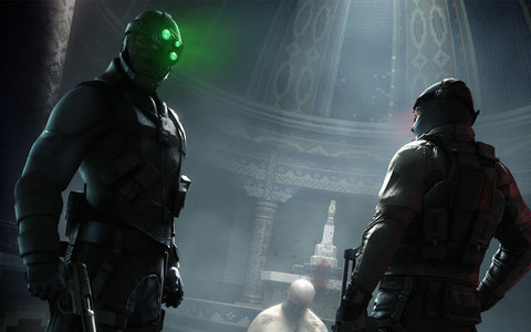Splinter Cell Conviction 2010 Game Game Silk Wall Art Poster Print - 13x20 inch (33x50cm)