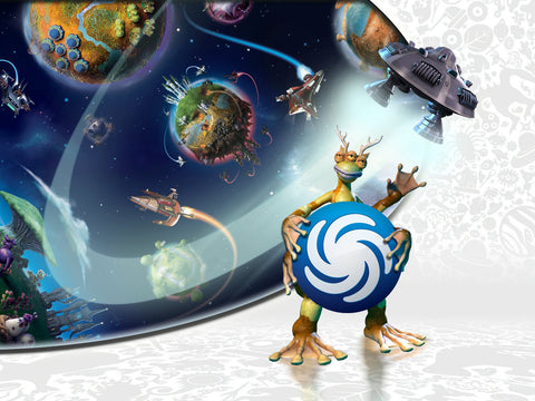 Spore Galactic Adventures Game Silk Wall Art Poster Print - 32x48 inch (80x120cm)