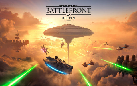 Star Wars Battlefront Bespin DLC 5K Game Silk Wall Art Poster Print - 13x20 inch (33x50cm)