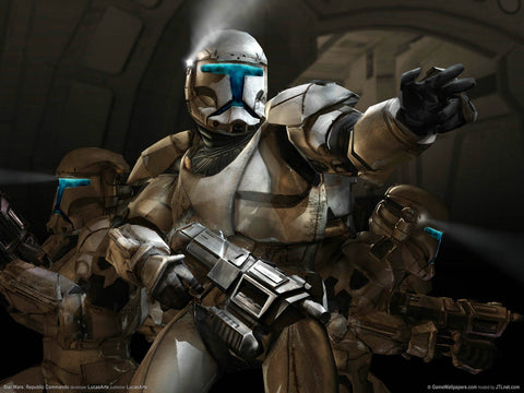 Star Wars Republic Commando Game Silk Wall Art Poster Print - 13x20 inch (33x50cm)