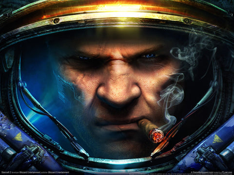 Starcraft 2   1 Game Silk Wall Art Poster Print - 32x48 inch (80x120cm)