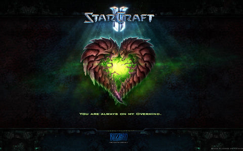 StarCraft II (2010) Game Game Silk Wall Art Poster Print - 32x48 inch (80x120cm)