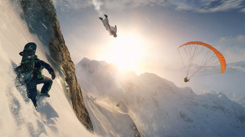 Steep 2016 Game 4K Game Silk Wall Art Poster Print - 32x48 inch (80x120cm)