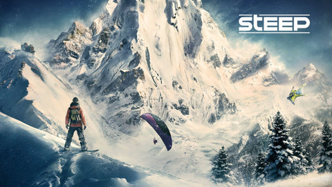 Steep Game Game Silk Wall Art Poster Print - 13x20 inch (33x50cm)