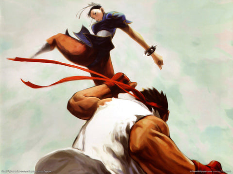Street Fighter Game Silk Wall Art Poster Print - 13x20 inch (33x50cm)