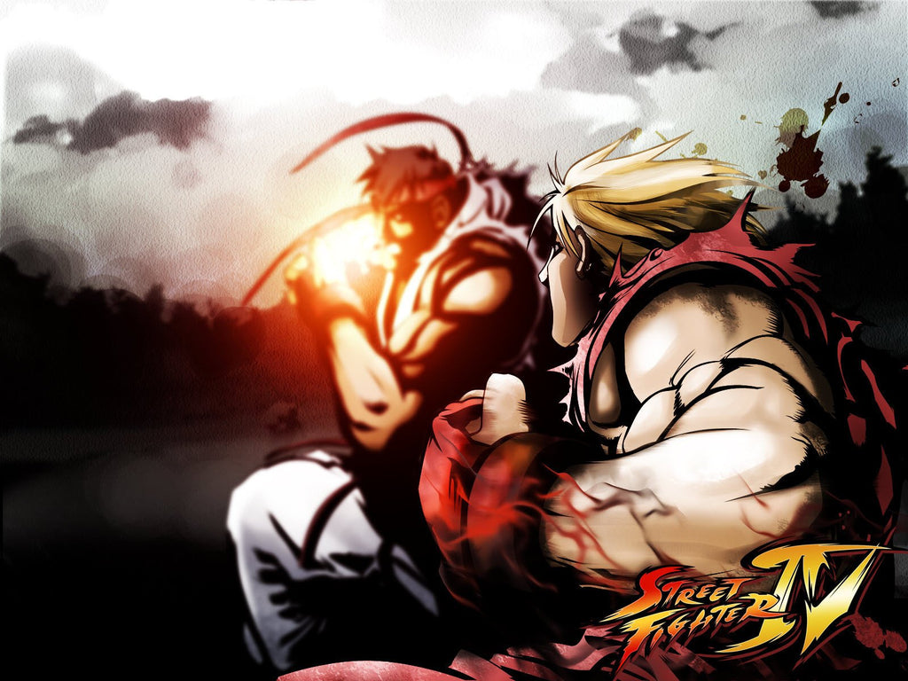 Street Fighter 4 Game Game Silk Wall Art Poster Print 24x36 Inch