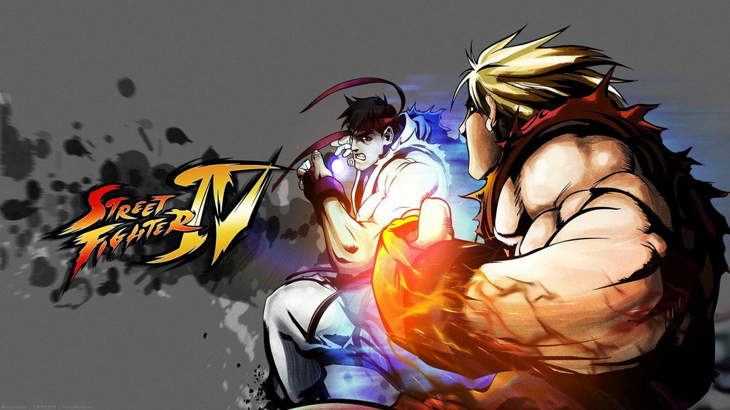 Street Fighter Iv Game Game Silk Wall Art Poster Print 20x30